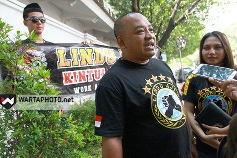 Wakil Ketua DPC Lindu Aji Pati, Saryono Uceng,