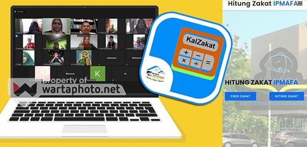 Tim KKN Santri Smart IPMAFA Ciptakan Aplikasi Kalkulator dan Fiqih Zakat Lengkap