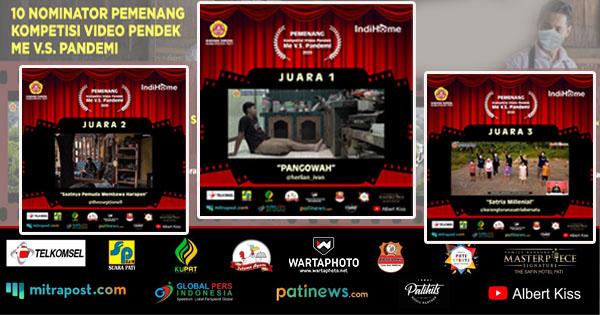 Inilah Pemenang Kompetisi Video Pendek Me vs Pandemi Oleh Karang Taruna dan Indihome Jateng DIY