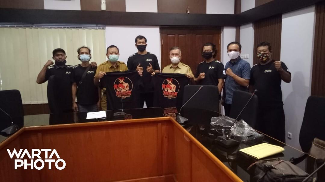 Siap Tarung, Atlet One Pride MMA Asal Mojo Cluwak Bertekad Raih Juara